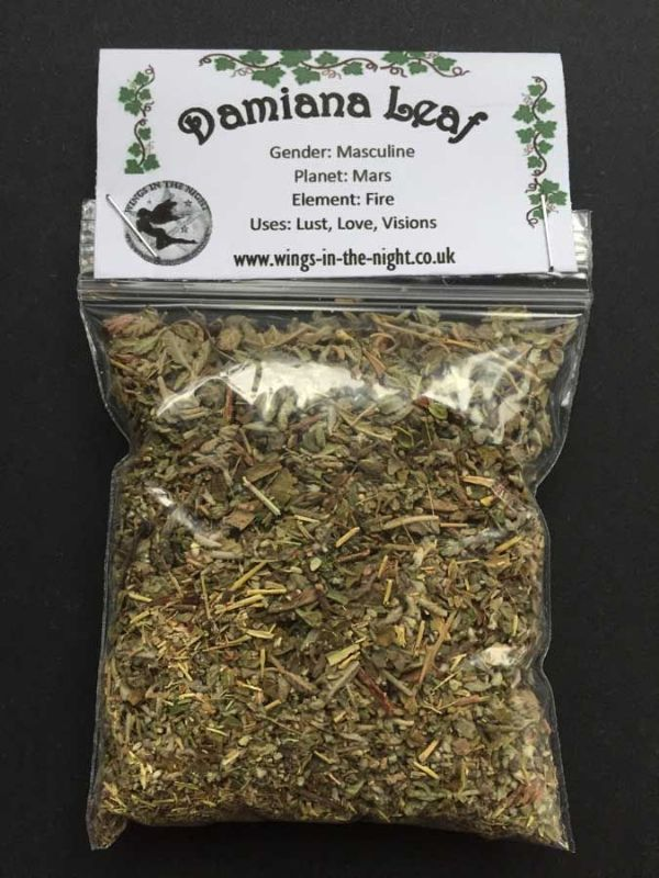 DAMIANA LEAF Dried Magical Herb